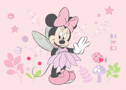Minnie Mouse wall mural wallpaper 160x110cm Disney